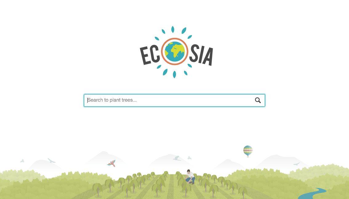Ecosia- Le moteur de recherche ethique